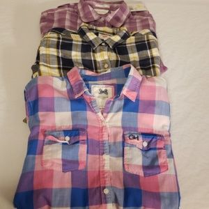 Gilly Hicks (Hollister) Levi's Plaid Small